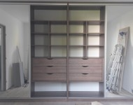 Dressing 4 portes miroirs