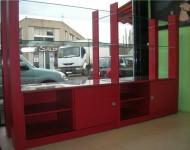 vitrine sur mesure magasin d'optique
