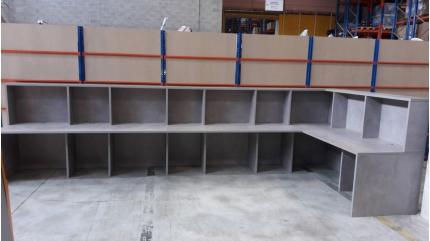 Comptoir dispatching – entrepôt logistique