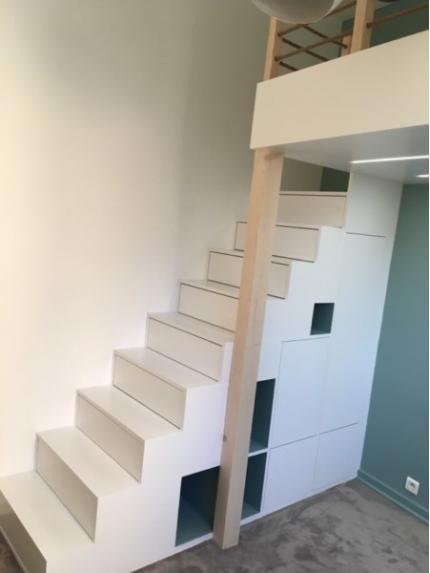 Escalier pour chambre d'enfant