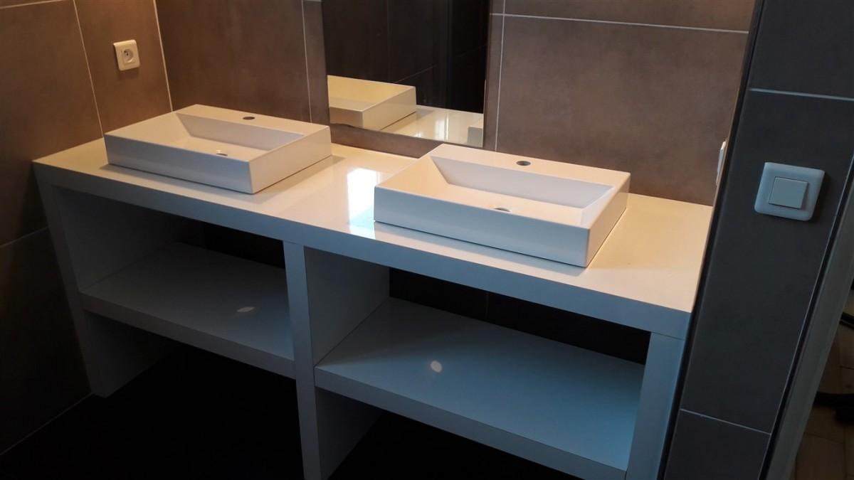 meuble sous vasque. Black Bedroom Furniture Sets. Home Design Ideas