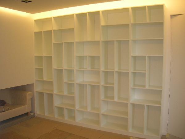 biblioth que d structur e sur mesure. Black Bedroom Furniture Sets. Home Design Ideas