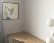 bureau console chambre - plateau chêne massif