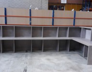 Comptoir dispatching - entrepôt logistique