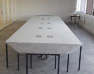 Modification tables de réunion existantes et défonçages plateaux